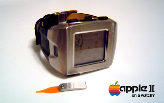 How to make an Apple II computer fit on your wrist.