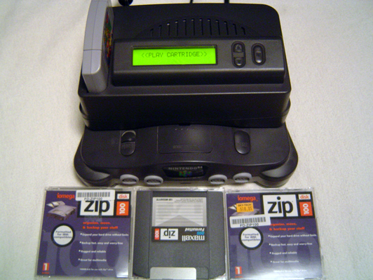 Retro Console Mods: Nintendo 64 Cartridge Copier (the Z64)